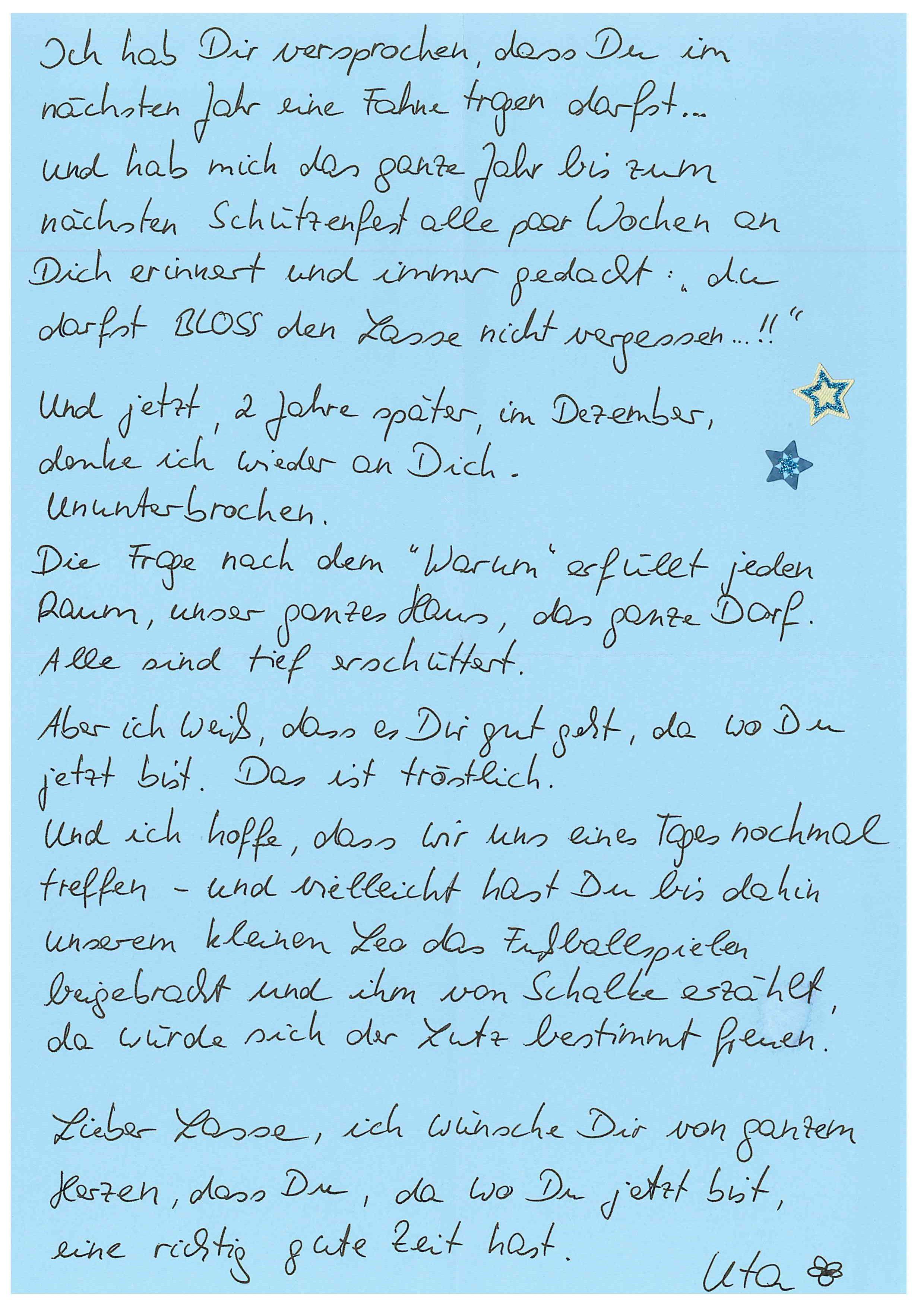 Liebesbrief An Freundin Zum Weinen